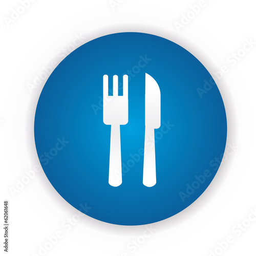 Food zone sign,vector