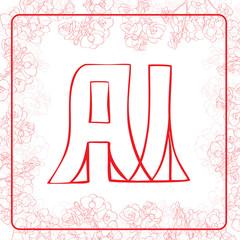 AI monogram
