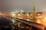 Beklemishev (Moskvoretskaya) Tower of Moscow Kremlin at Red Squa