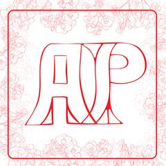 AP monogram