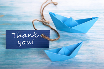 Thank You with Boats