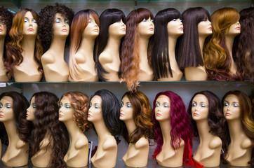 row of Mannequines