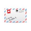 Постер, плакат: love letter