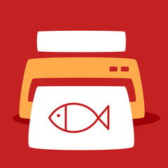 print out images fish.