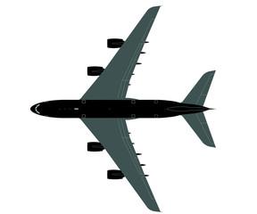 A380 Grossraumjet Grafik