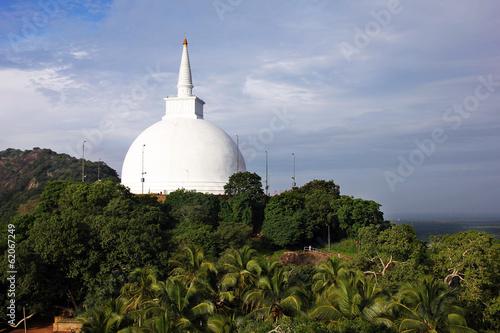 Temple bouddhiste Sri Lanka