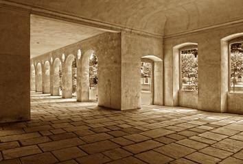 Arkaden Schloss Favorite, Rastatt, Baden-Württemberg
