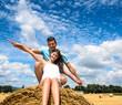 Sommer-Glück: Junges, verliebtes Paar :)