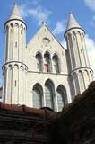 Fototapety kościół w Bruggi