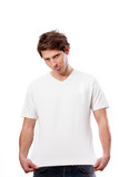 White T-shirt for your own text