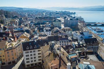 Zürich mit See