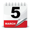 5 MARCH ICON