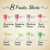 FRESH FRUIT SHOTS SET