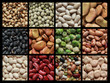 Collage of beans