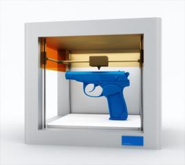 3d printer, printing gun