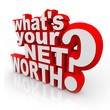 Whats Your Net Worth Question Total Wealth Value Accounting