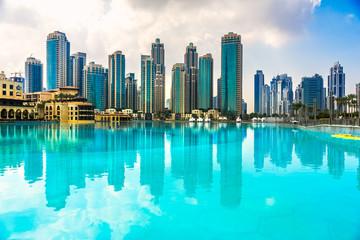 Dubai skyline, UAE.