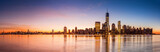New York panorama at sunrise