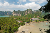 Railay beach from view point