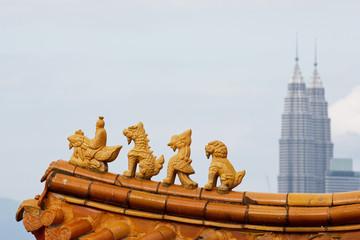 Chinese Temple Thean Hou in Kuala Lumpur