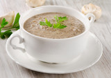 Mushrooms soup