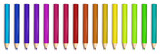 A group of colorful pencils