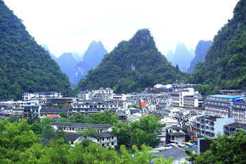 landscape in guilin scenery