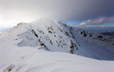 Winter mountain landscape - Low Tatras
