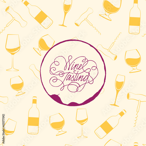 Wine drops over text paper background.