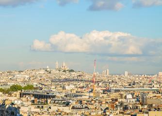 Mont Matre hill, Paris,