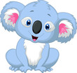 Cute koala cartoon
