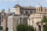 Views of Roman Forum, Rome Italy
