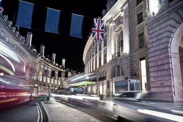 Traffic regent street - London
