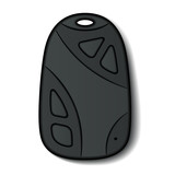vector car remote control micro hidden camera keychain