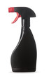 Black spray bottle White background