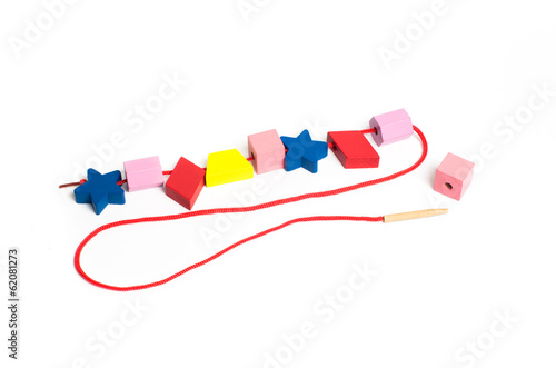 Baby Educational Toys Lacing