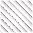 Abstract 3D stripe background, white, vector illustration