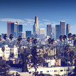 canvas print picture City of Los Angeles, california