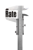 The size of our rate