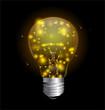 Light bulb and magic lights