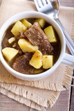 Potato and beef stew