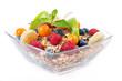 frisches Früchtemüsli