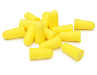 Bouchons d'oreille - Yellow earplugs