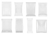 white package template bag food - 62092200
