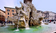 Rivers Fountain, Piazza Navona, Rome