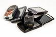 Leinwanddruck Bild - Handy - Recycling
