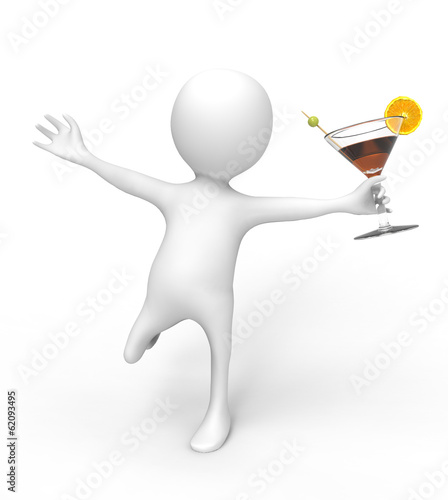 3D Man Cocktail