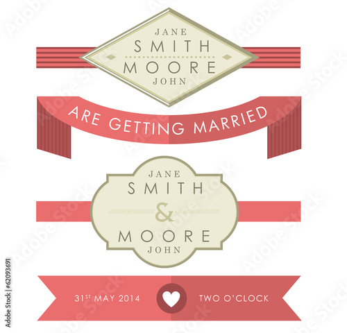 Wedding Accessory Tags
