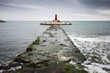 Lighthouse on the coast in Spain