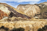 Mine of zinc, lead and silver in Mazarron, Spain